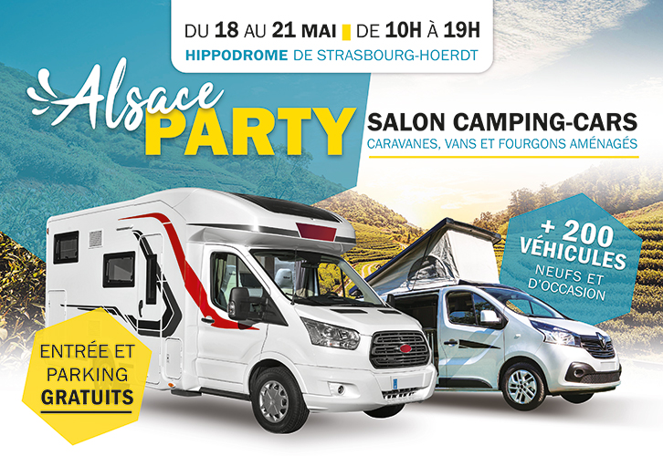 ALSACE PARTY CAMPING-CARS