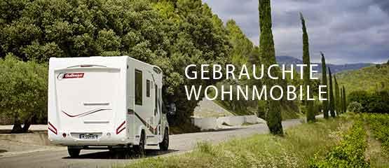 Gebrauchte Wohnmobile
