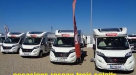 Vente camping-car d'occasion du réseau Trois Soleils