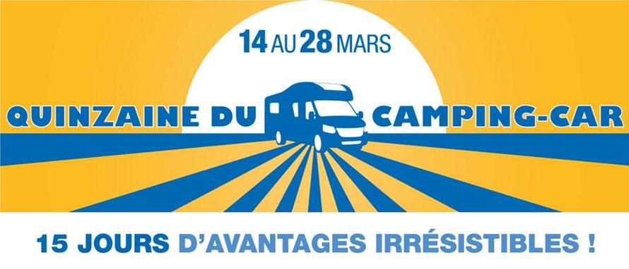 Quinzaine du Camping-Car 2020