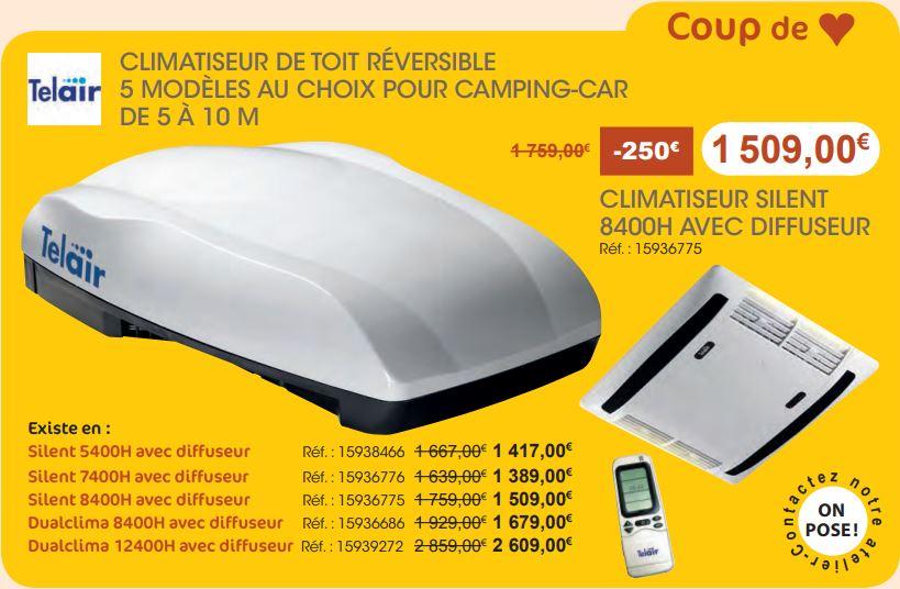 climatiseur camping-car