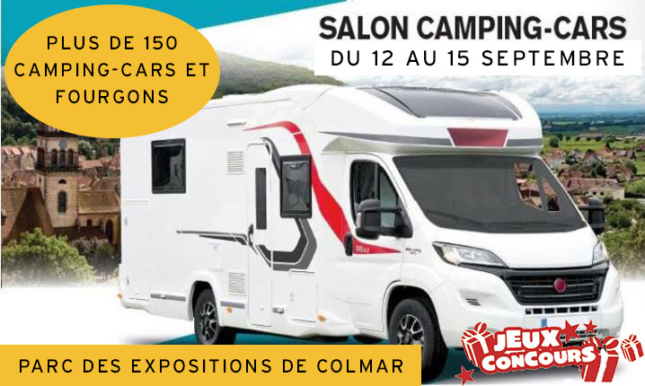Salon du camping-car de Colmar