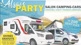 Europ'holidays vous attend au salon du camping-car Alsace Party 2019