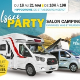 Europ'holidays sera présent au salon du camping-car Alsace Party