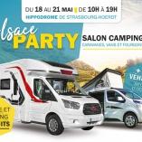 Europ'holidays sera présent au salon du camping-car Alsace Party