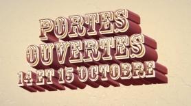 Portes ouvertes les 14 et 15 octobre 2017