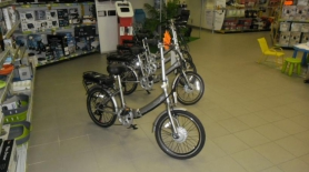 Vélo électrique pliant City'z