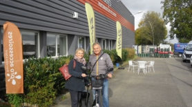 Félicitations aux heureux gagnants du scooter électrique