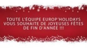 Nous vous souhaitons de joyeuses fêtes !!!