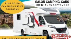 Europ'holidays vous attend au Salon du camping-car de Colmar 2019